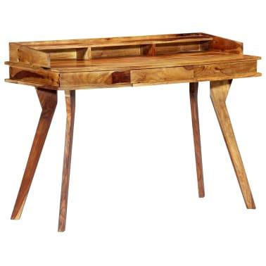 "vidaXL Writing Desk 45.3""x19.7""x33.5"" Solid Sheesham Wood[8/13]"