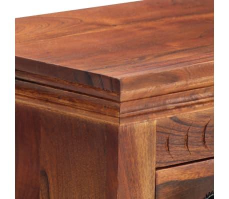 """vidaXL Sideboard 19.7""""x11.8""""x29.4"""" Solid Acacia Wood[6/15]"""
