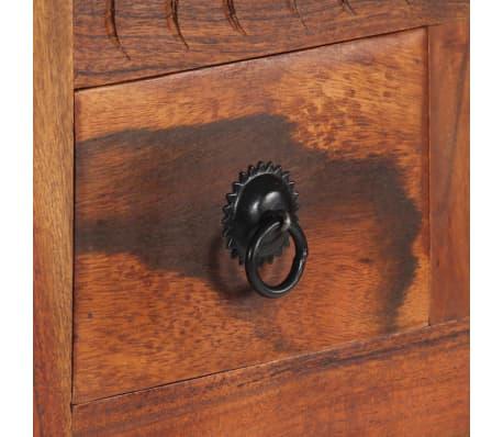 """vidaXL Sideboard 19.7""""x11.8""""x29.4"""" Solid Acacia Wood[9/15]"""