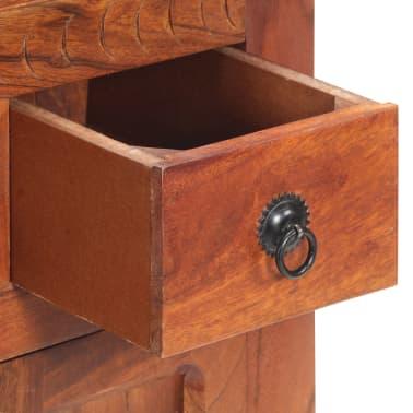 """vidaXL Sideboard 19.7""""x11.8""""x29.4"""" Solid Acacia Wood[7/15]"""