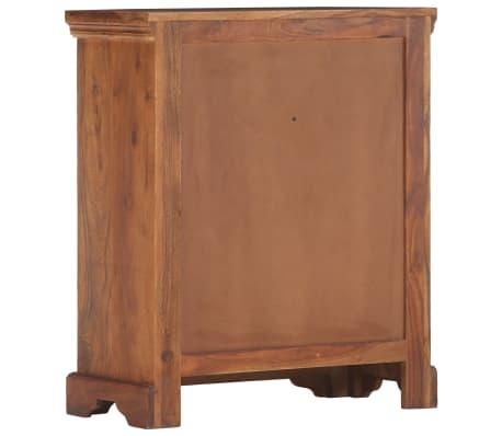 """vidaXL Sideboard 24.8""""x11.8""""x29.5"""" Solid Acacia Wood[3/17]"""