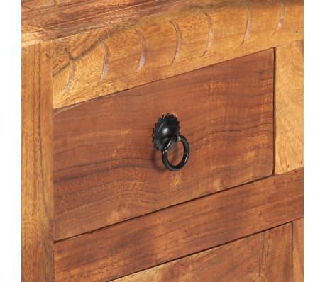 """vidaXL Sideboard 24.8""""x11.8""""x29.5"""" Solid Acacia Wood[8/17]"""