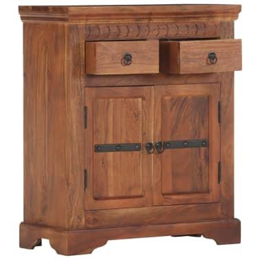 """vidaXL Sideboard 24.8""""x11.8""""x29.5"""" Solid Acacia Wood[2/17]"""