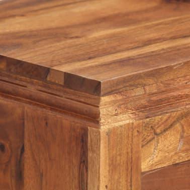 """vidaXL Sideboard 24.8""""x11.8""""x29.5"""" Solid Acacia Wood[6/17]"""