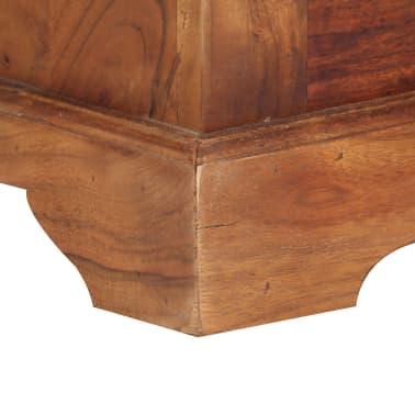 """vidaXL Sideboard 24.8""""x11.8""""x29.5"""" Solid Acacia Wood[9/17]"""