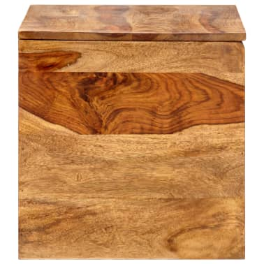 "vidaXL Storage Chest 31.5""x15.7""x15.7"" Solid Sheesham Wood[7/18]"