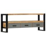 "vidaXL TV Cabinet 51.2""x11.8""x19.7"" Solid Mango Wood"