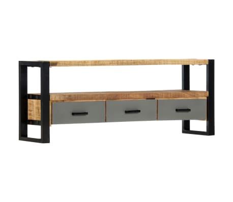 "vidaXL TV Cabinet 51.2""x11.8""x19.7"" Solid Mango Wood[8/11]"