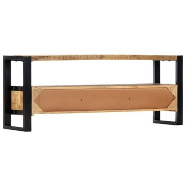 "vidaXL TV Cabinet 51.2""x11.8""x19.7"" Solid Mango Wood[4/11]"