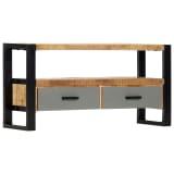vidaXL TV Cabinet 100x30x50 cm Solid Mango Wood