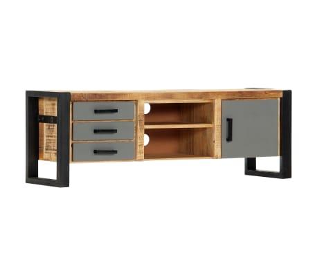 vidaXL Tv-meubel 120x30x40 cm massief mangohout