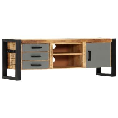 "vidaXL TV Cabinet 47.2""x11.8""x15.7"" Solid Mango Wood[1/13]"