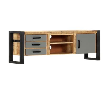 "vidaXL TV Cabinet 47.2""x11.8""x15.7"" Solid Mango Wood[11/13]"