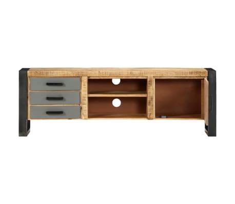 "vidaXL TV Cabinet 47.2""x11.8""x15.7"" Solid Mango Wood[3/13]"