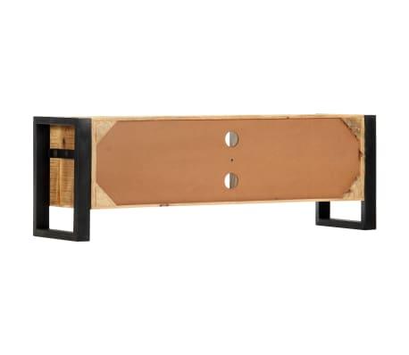 "vidaXL TV Cabinet 47.2""x11.8""x15.7"" Solid Mango Wood[4/13]"