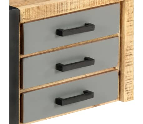 "vidaXL TV Cabinet 47.2""x11.8""x15.7"" Solid Mango Wood[5/13]"