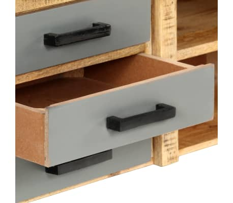 "vidaXL TV Cabinet 47.2""x11.8""x15.7"" Solid Mango Wood[6/13]"