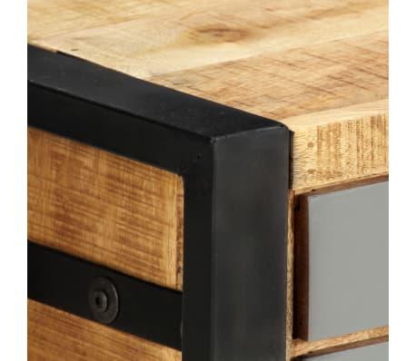 "vidaXL TV Cabinet 47.2""x11.8""x15.7"" Solid Mango Wood[7/13]"