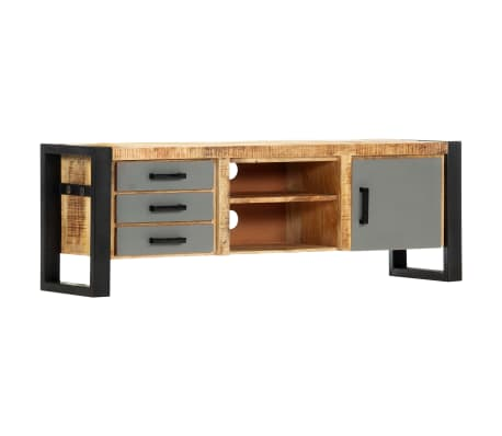 "vidaXL TV Cabinet 47.2""x11.8""x15.7"" Solid Mango Wood[9/13]"