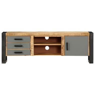 "vidaXL TV Cabinet 47.2""x11.8""x15.7"" Solid Mango Wood[2/13]"