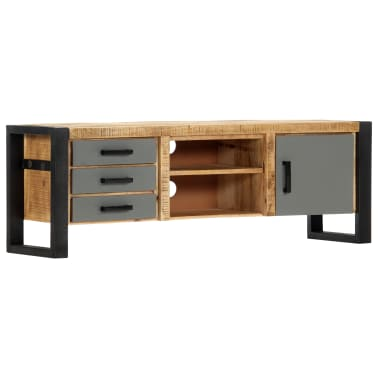 "vidaXL TV Cabinet 47.2""x11.8""x15.7"" Solid Mango Wood[12/13]"