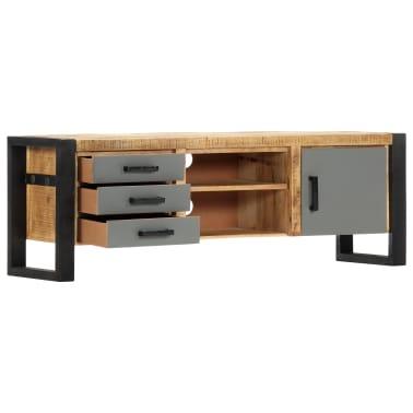 "vidaXL TV Cabinet 47.2""x11.8""x15.7"" Solid Mango Wood[13/13]"