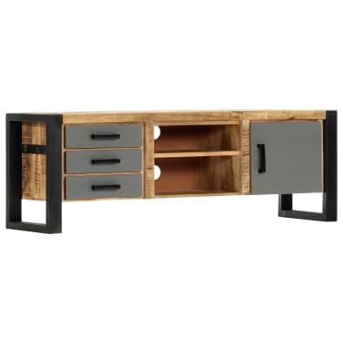 "vidaXL TV Cabinet 47.2""x11.8""x15.7"" Solid Mango Wood[10/13]"