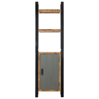 vidaXL Knygų lentyna, 50x30x170 cm, mango medienos masyvas[2/11]