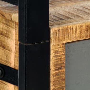 vidaXL Knygų lentyna, 50x30x170 cm, mango medienos masyvas[6/11]