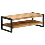 "vidaXL Coffee Table 47.2""x23.6""x15.7"" Solid Mango Wood"