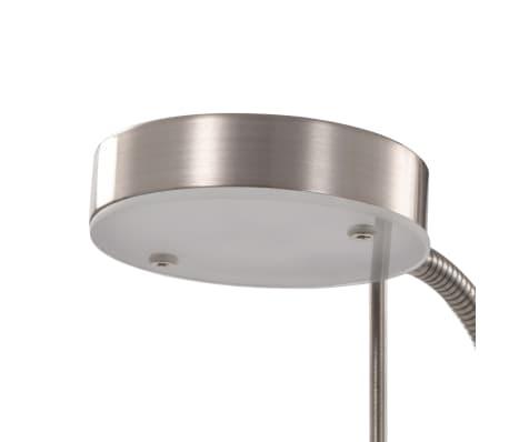 vidaXL Lámpara de pie 16 W plateado 180 cm[5/9]
