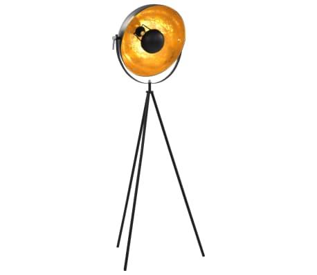 vidaXL standerlampe E27 41 cm sort og guld[1/7]
