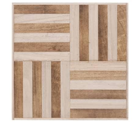 vidaXL Kavos staliukas, 50x50x33,5 cm, medienos masyvas[3/5]