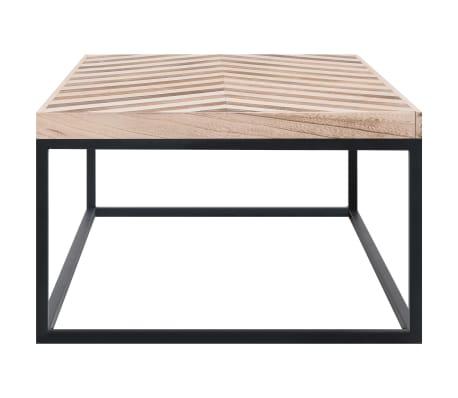 vidaXL Kavos staliukas, 110x60x37 cm, mango medienos masyvas[3/5]