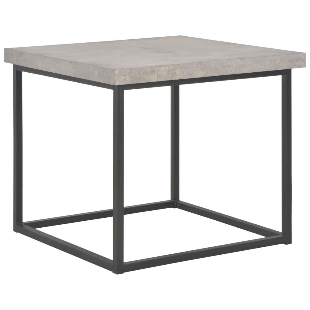 vidaXL Konferenční stolek 55 x 55 x 53 cm betonový vzhled