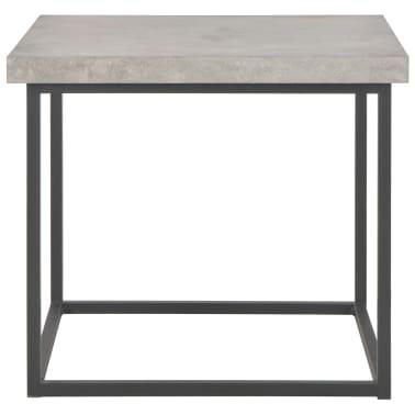 vidaXL Salontafel 55x55x53 cm beton-look[2/5]