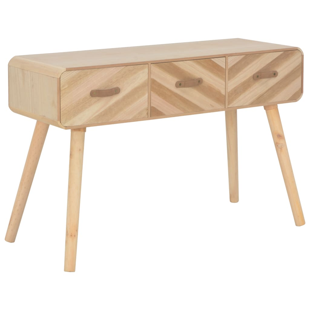 vidaXL Masă consolă, 100x35x68 cm, lemn masiv imagine vidaxl.ro