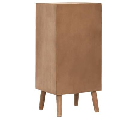 vidaXL Szafka z 4 szufladami, brązowa, 35,5 x 30 x 74,5 cm, MDF[3/8]
