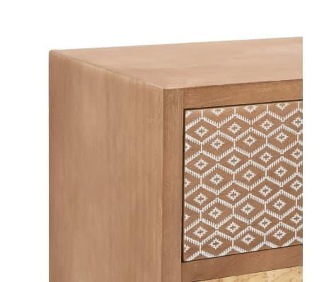 vidaXL Szafka z 4 szufladami, brązowa, 35,5 x 30 x 74,5 cm, MDF[5/8]