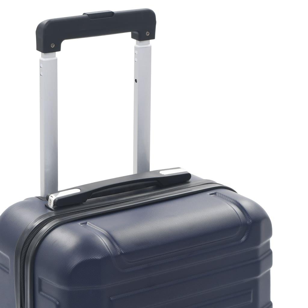 vidaXL Harde koffer ABS marineblauw