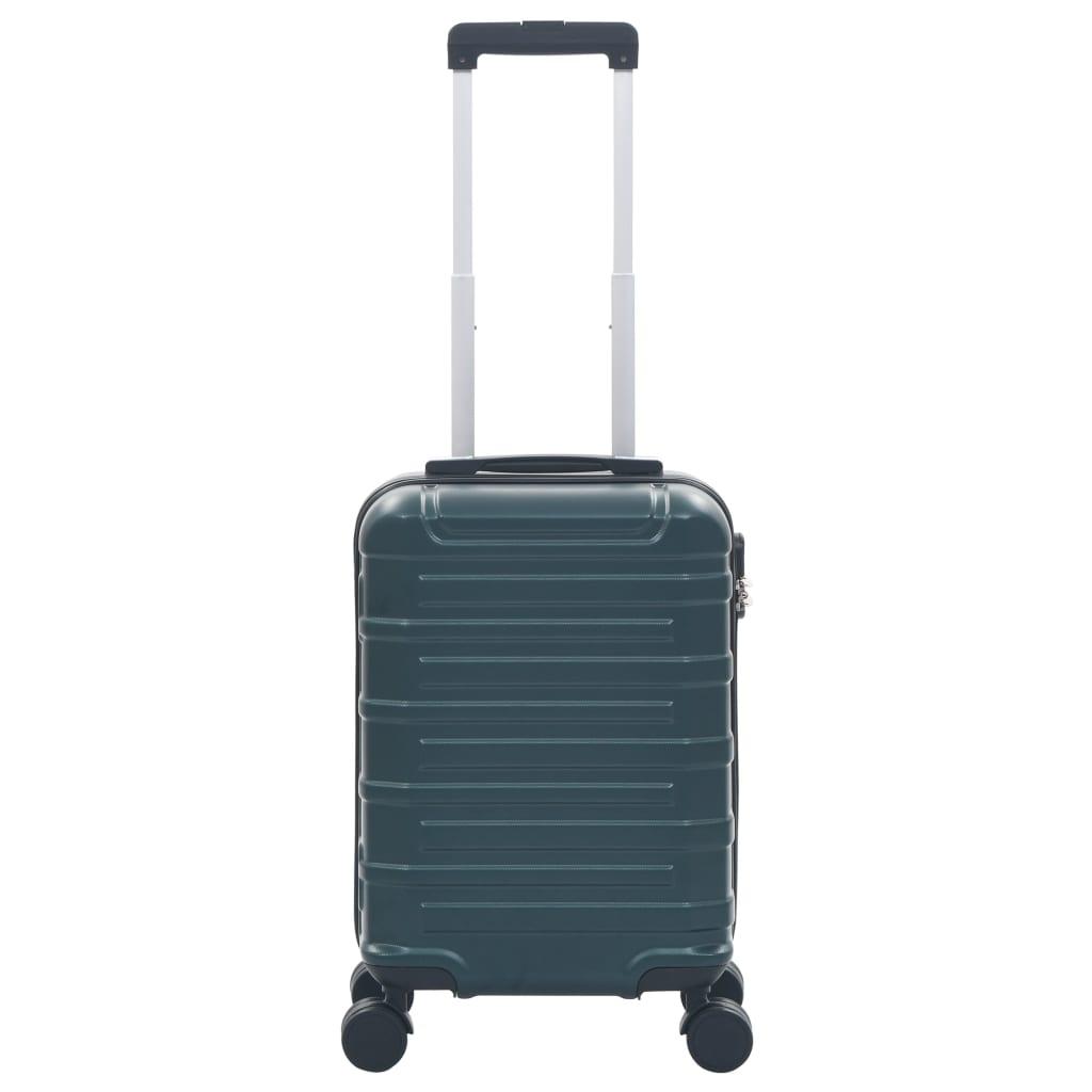 vidaXL Harde koffer ABS groen
