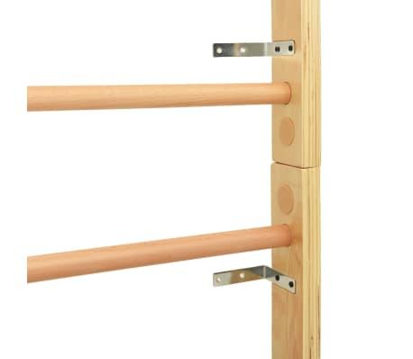 vidaXL Sieninė karstyklė, 80x15,8x195 cm, mediena[6/10]