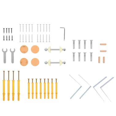 vidaXL Sieninė karstyklė, 80x15,8x195 cm, mediena[9/10]