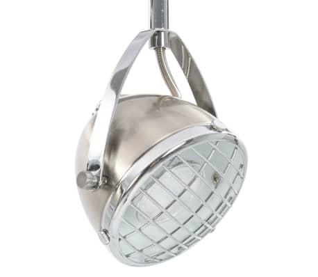 vidaXL Taškinis šviestuvas, sidabrinės spalvos, 2 krypčių, GU10[6/9]