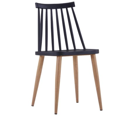 This dining chair set which consists of 2 pieces, with a simple yet elegant design, will make a great addition to your dining room or kitchen.
