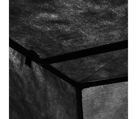vidaXL Armario negro 75x50x160 cm[7/9]
