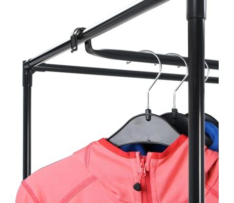 vidaXL Armario negro 75x50x160 cm[8/9]