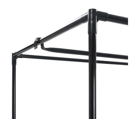 vidaXL Drabužių spinta, ruda, 75x50x160cm[6/9]