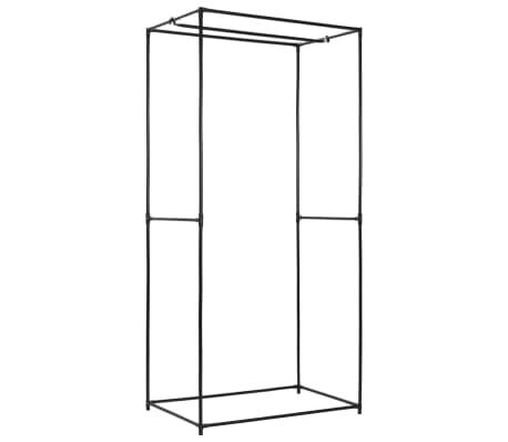 vidaXL Garde-robe Crème 75x50x160 cm[5/9]