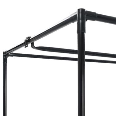 vidaXL Garde-robe Crème 75x50x160 cm[6/9]